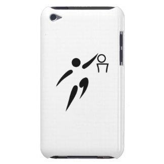 Jugador de básquet iPod touch Case-Mate protector