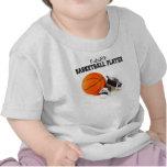 Jugador de básquet futuro camiseta