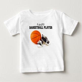 Jugador de básquet futuro t shirt