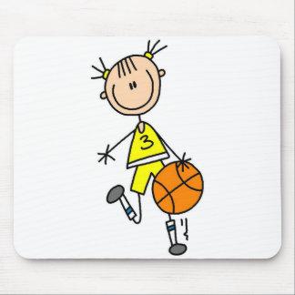 Jugador de básquet Mousepad