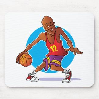 Jugador de básquet mousepads
