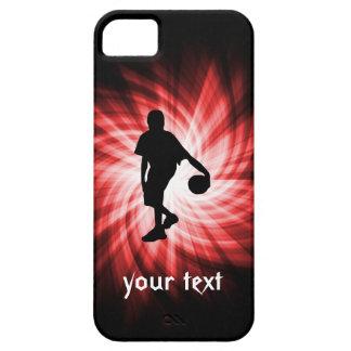 Jugador de básquet; Rojo iPhone 5 Fundas
