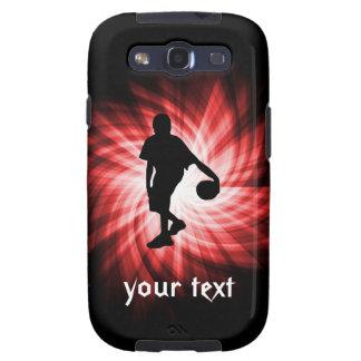 Jugador de básquet; Rojo Galaxy S3 Fundas
