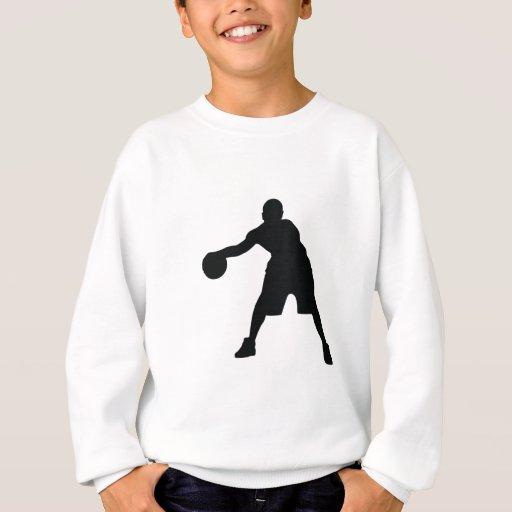 Jugador de básquet sudadera