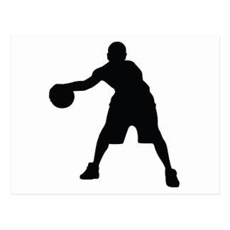 Jugador de básquet postal
