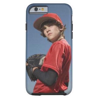 Jugador de béisbol 2 funda de iPhone 6 tough