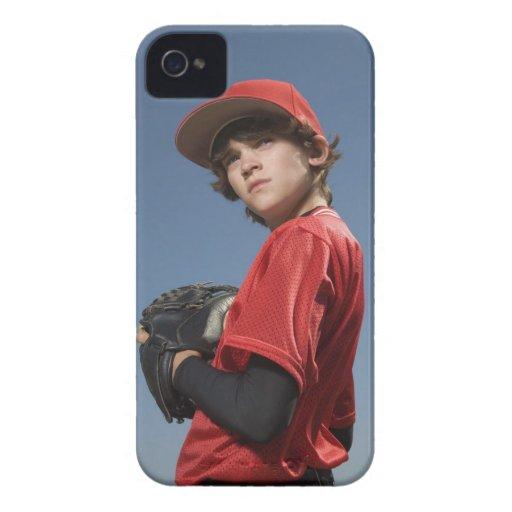 Jugador de béisbol 2 iPhone 4 Case-Mate funda