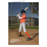 Jugador de béisbol 3 tarjeta