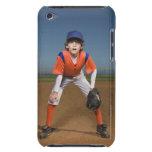 Jugador de béisbol barely there iPod protectores