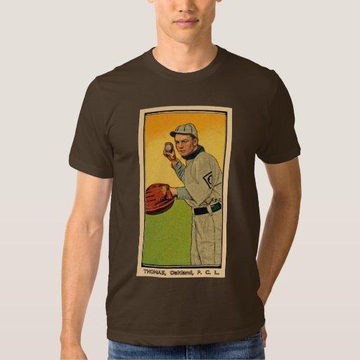 Jugador de béisbol camisas