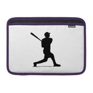 Jugador de béisbol funda  MacBook