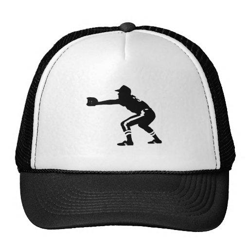 Jugador de béisbol gorro de camionero