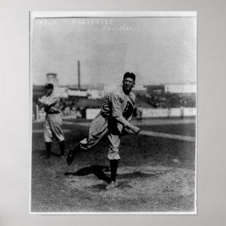 Jugador de béisbol - Grover Cleveland Alexander Posters