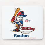 Jugador de béisbol lechoso Boston Tapete De Ratones