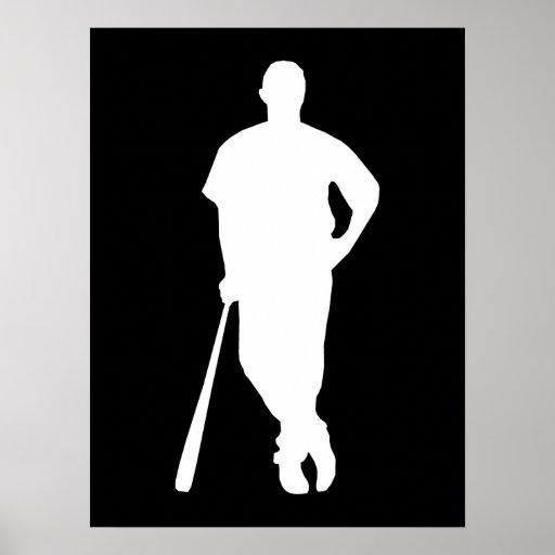 Jugador de béisbol posters