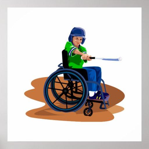 Jugador de béisbol póster