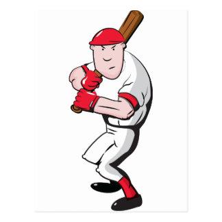 Jugador de béisbol postal