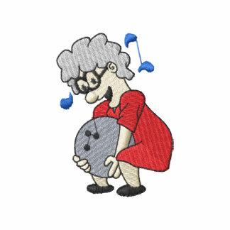 Jugador de bolos de la abuelita