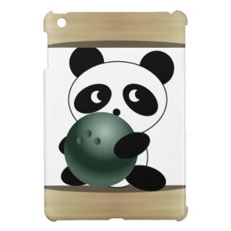 Jugador de bolos de la panda iPad mini cárcasa