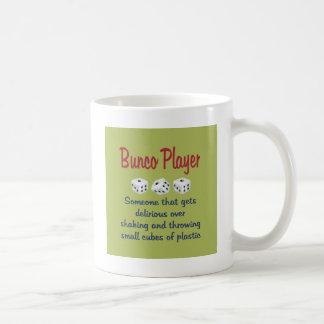 Jugador de Bunco - definición Tazas De Café