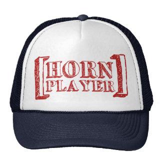 Jugador de cuerno gorras