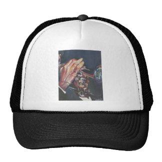 jugador de cuerno gorras de camionero