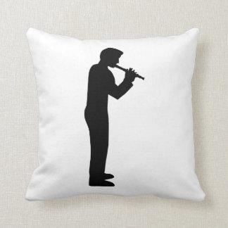 Jugador de flauta almohada