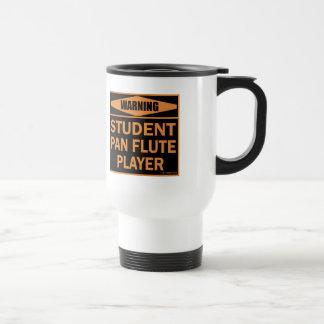 Jugador de flauta de la cacerola del estudiante taza de viaje de acero inoxidable