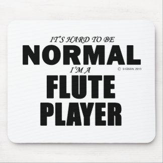 Jugador de flauta normal mouse pad