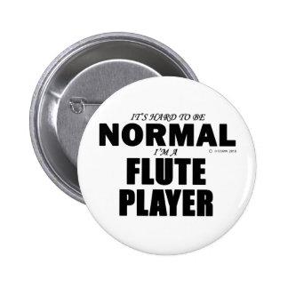 Jugador de flauta normal pins