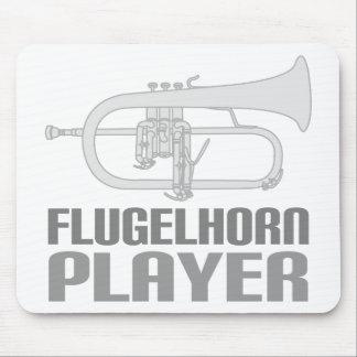 Jugador de Flugelhorn Alfombrilla De Ratón