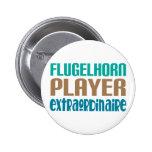 Jugador de Flugelhorn Extraordinaire Pins