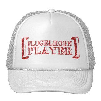 Jugador de Flugelhorn Gorro De Camionero