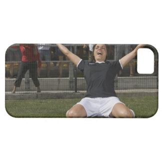 Jugador de fútbol de sexo femenino alemán que cele iPhone 5 carcasas