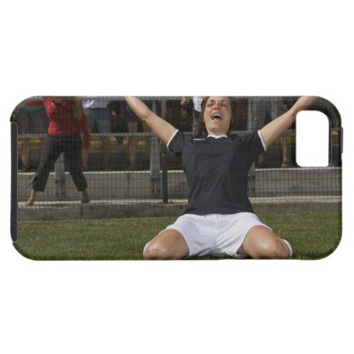 Jugador de fútbol de sexo femenino alemán que funda para iPhone SE/5/5s