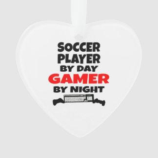 Jugador de fútbol del videojugador