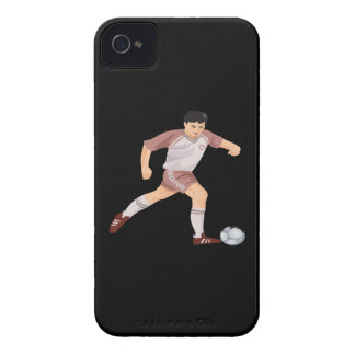 Jugador de fútbol iPhone 4 carcasa