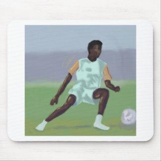 Jugador de fútbol, Mousepad