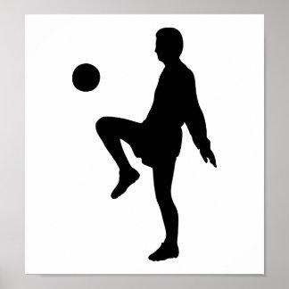 Jugador de fútbol poster