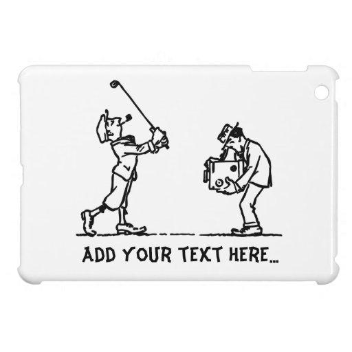 Jugador de golf - como Boss iPad Mini Fundas