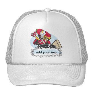 Jugador de hockey de encargo gorras