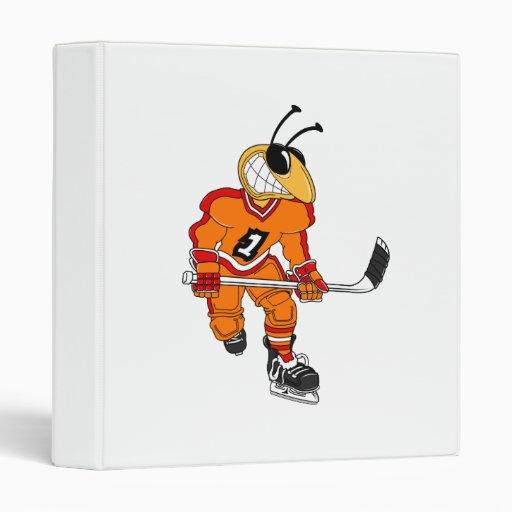 Jugador de hockey de la abeja