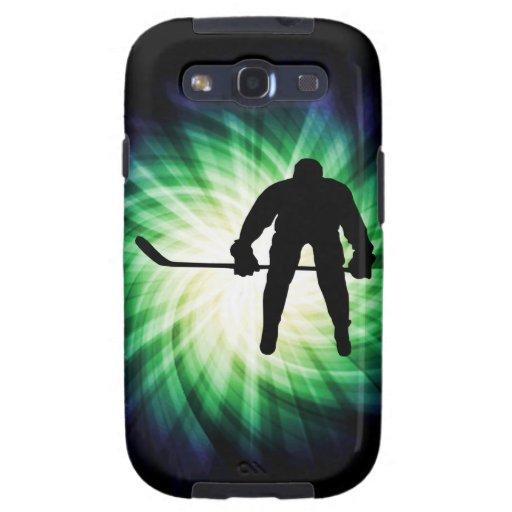 Jugador de hockey fresco galaxy s3 protector
