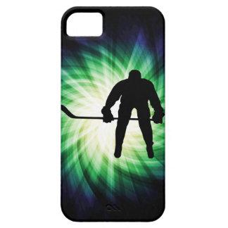 Jugador de hockey fresco iPhone 5 carcasa