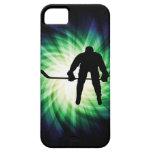 Jugador de hockey fresco iPhone 5 coberturas