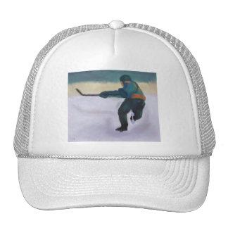 Jugador de hockey, gorra