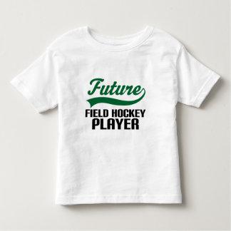 Jugador de hockey hierba (futuro) playera de niño
