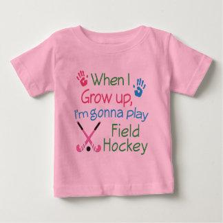 Jugador de hockey hierba (futuro) polera