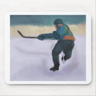Jugador de hockey, Mousepad