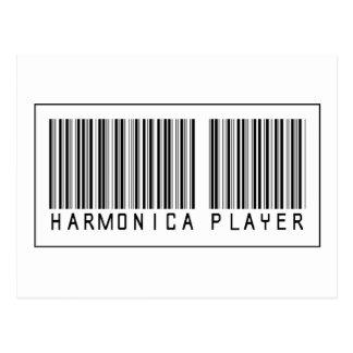 Jugador de la armónica del código de barras postales